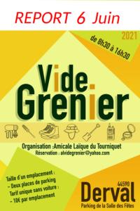 Vide grenier Amicale Laïque Derval 2021